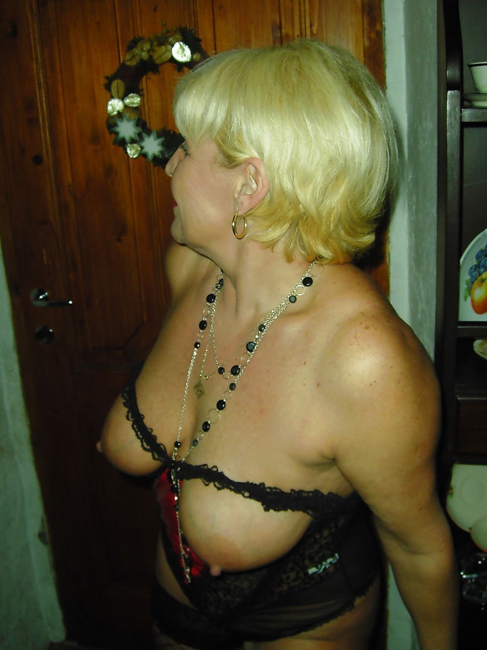 mamie en chaleur polonaise salope